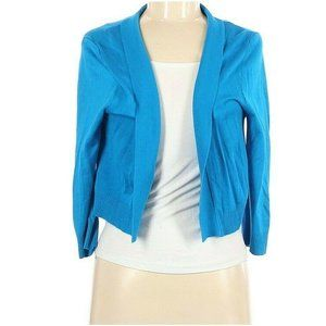 Ronni Nicole Cropped Open Front Cardigan